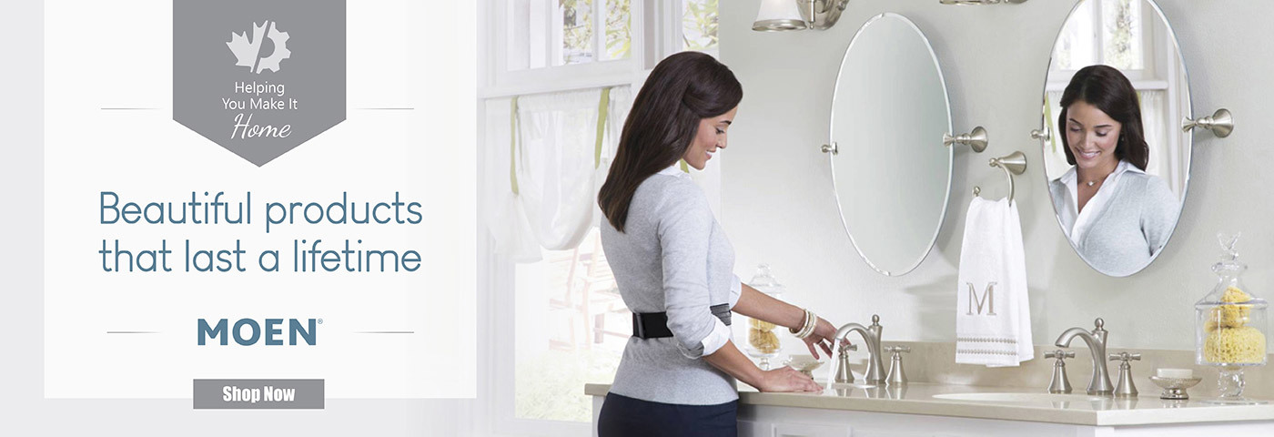Safe and Sanitary Touchless Faucets - Moen - Click to Shop