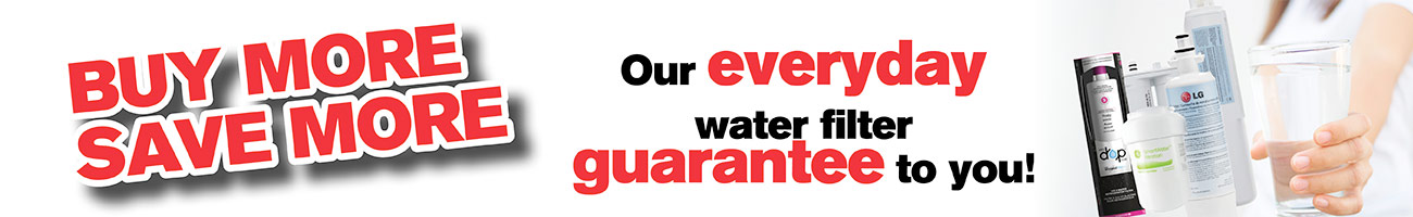 Everyday Free Shipping Guarantee! Buy a Water Filter & Get FREE shipping. Buy More Save More!