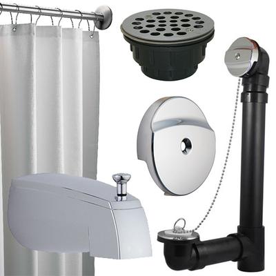 Tub & Shower Installation & Repair Parts