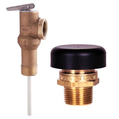Valves Temperature/Pressure Relief & Vacuum Relief