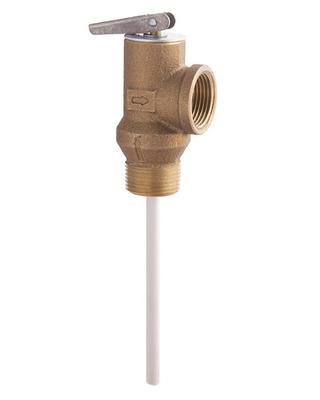 Temperature/Pressure & Pressure Relief Valves