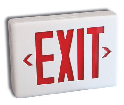 Plastic Exit Fixtures