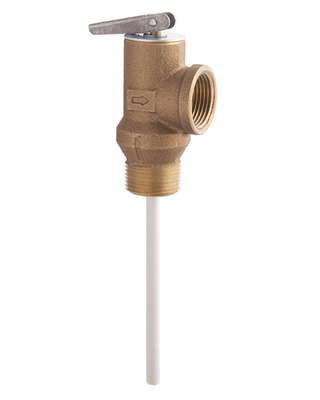 Temperature/Pressure & Pressure Relief Valves