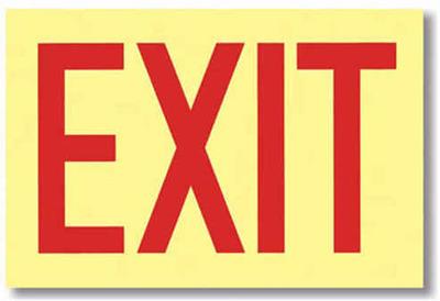 Exit Placards