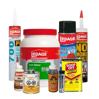 Adhesives & Adhesive Removers