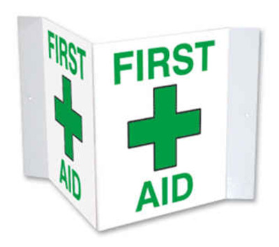 First Aid Placards