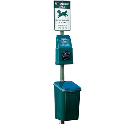 Doggy Waste Receptacles & Bags