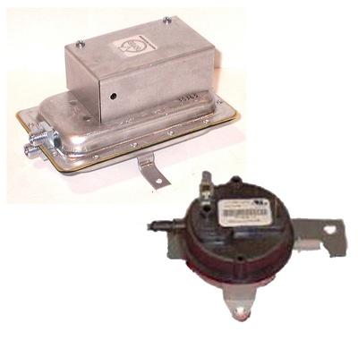 Switches- Air Pressure, Damper, Door