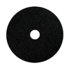"17"" Black Stripping Floor Maintenance Pad"