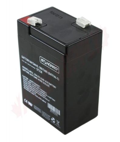 Photo 1 of SLA6-5 : Battery, 5Ah 6V Sealed Lead