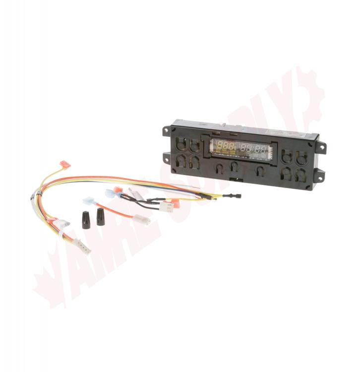 WG02A01436 : GE Range Electronic Clock Control Board on