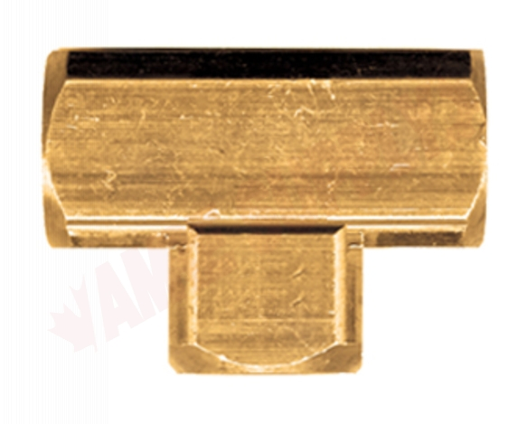 Photo 1 of X101-B : Fairview 1/4 x 1/4 x 1/4 Extruded Brass Tee