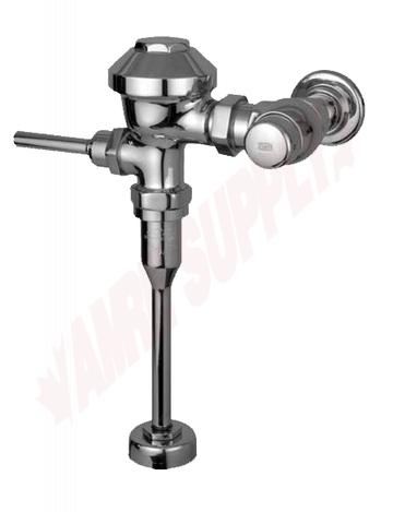 Photo 1 of Z6001AV-WS1 : Zurn AquaVantage Exposed Urinal Flush Valve, 1-1/4 Top Spud, 3.8 LPF/1 GPF