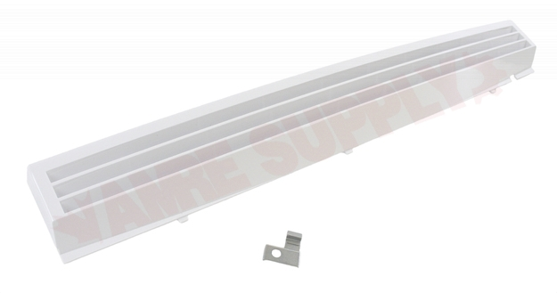 Photo 1 of W10450172 : Whirlpool Microwave Vent Grille, White