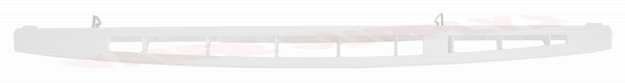 Photo 4 of W10450172 : Whirlpool Microwave Vent Grille, White