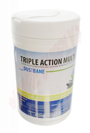 Photo 2 of DB53376 : Dustbane Triple Action Wipes, Disinfectant, Cleaner & Degreaser 120/Pack