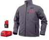 Milwaukee M12 Heated Jacket Kit, Grey, Large