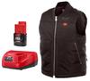 Milwaukee M12 Heated Vest Kit, Black, Large