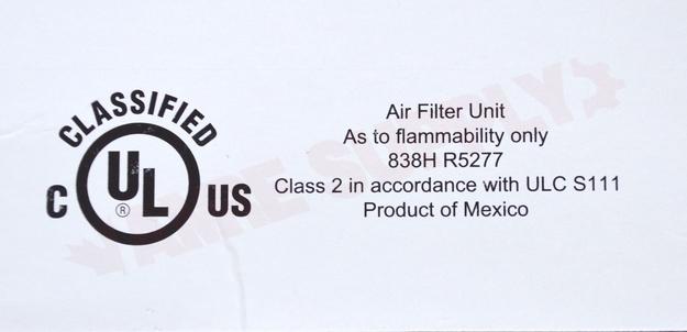 Photo 5 of X0584 : Lennox Air Cleaner Filter, 16 x 26 x 5, MERV 11
