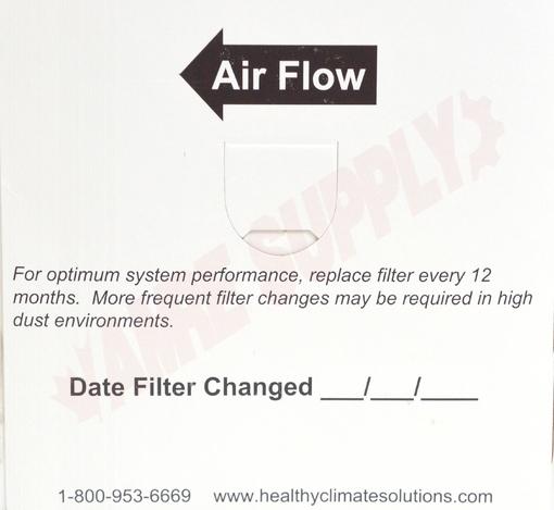 Photo 7 of X0584 : Lennox Air Cleaner Filter, 16 x 26 x 5, MERV 11