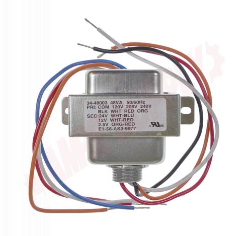 Photo 10 of 34-48003 : Multi Mount Control Transformer, 48VA, 120/208/240V