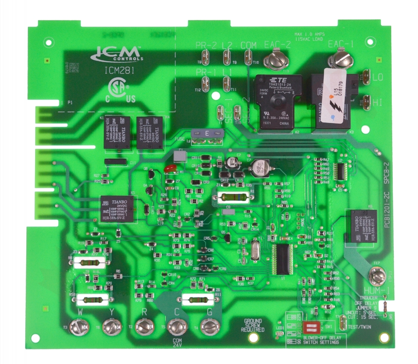 Icm281 Carrier Furnace Control Circuit Board Replacement