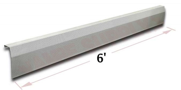 Photo 1 of BB003-72 : Baseboarders Premium Heater Cover Panel, Tall, 72
