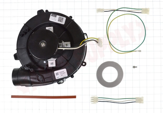 Photo 17 of 93W13 : Lennox Combustion Air, Flue Exhaust, Draft Inducer Blower Assembly Kit