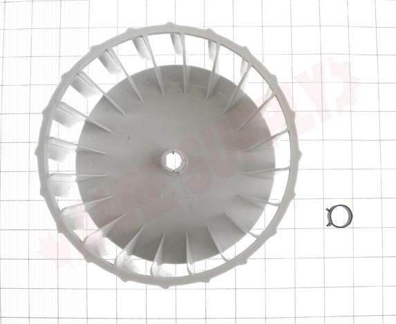 Photo 15 of Y303836 : Whirlpool Dryer Blower Wheel, 7-1/2