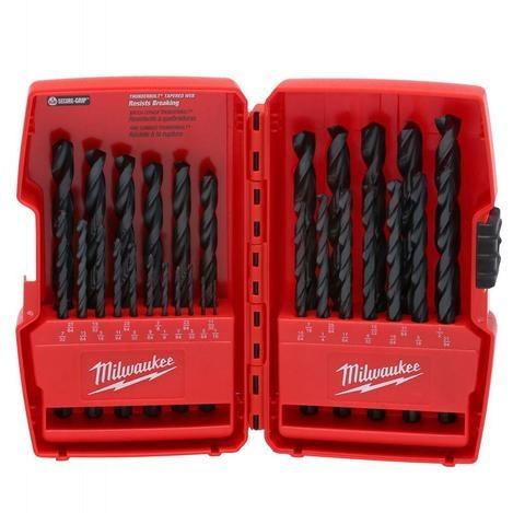 Photo 1 of 48-89-2802 : Milwaukee 29-Piece Thunderbolt Black Oxide Drill Bit Set