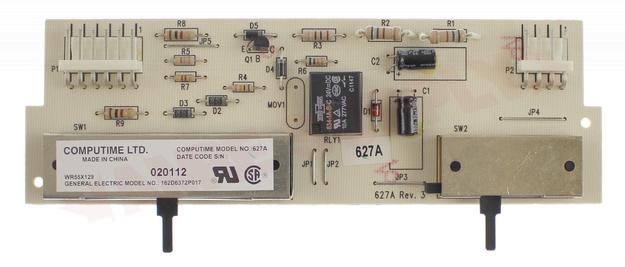 WR55X0129 GE REFRIGERATOR DISPENSER CONTROL BOARD 162D6372P017 WR55X42