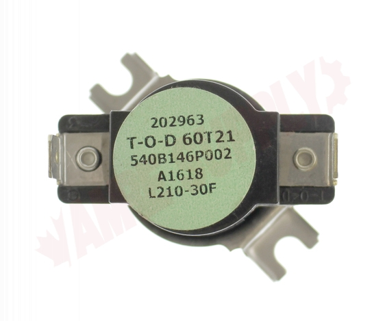 Photo 10 of WW02F00173 : GE Dryer High Limit Thermostat