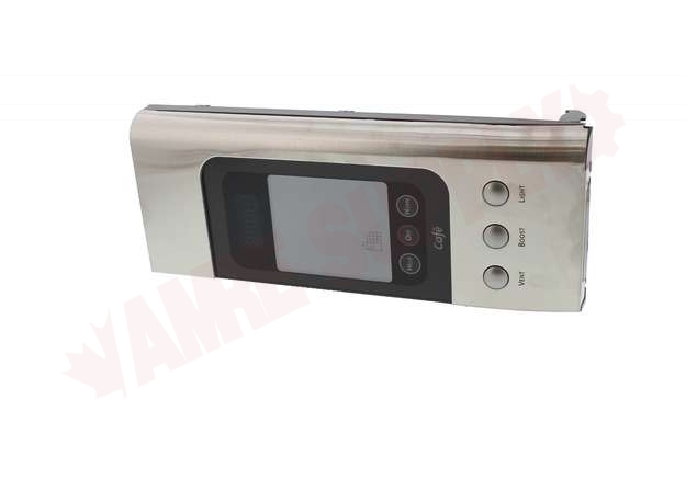 WG02F05318 : GE Microwave Control Panel Assembly, Stainless