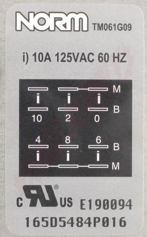 Photo 14 of WG04F04929 : GE Dishwasher Timer