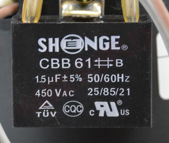 Photo 13 of 66254 : Packard Blower Draft Inducer, Flue Exhaust 1/50HP 3000RPM 230V ICP, Goodman 1010008