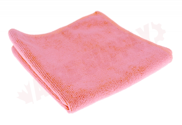 Photo 2 of 3131P : Globe Microfiber Cloth, Pink, 14 x 14, 10/Pack