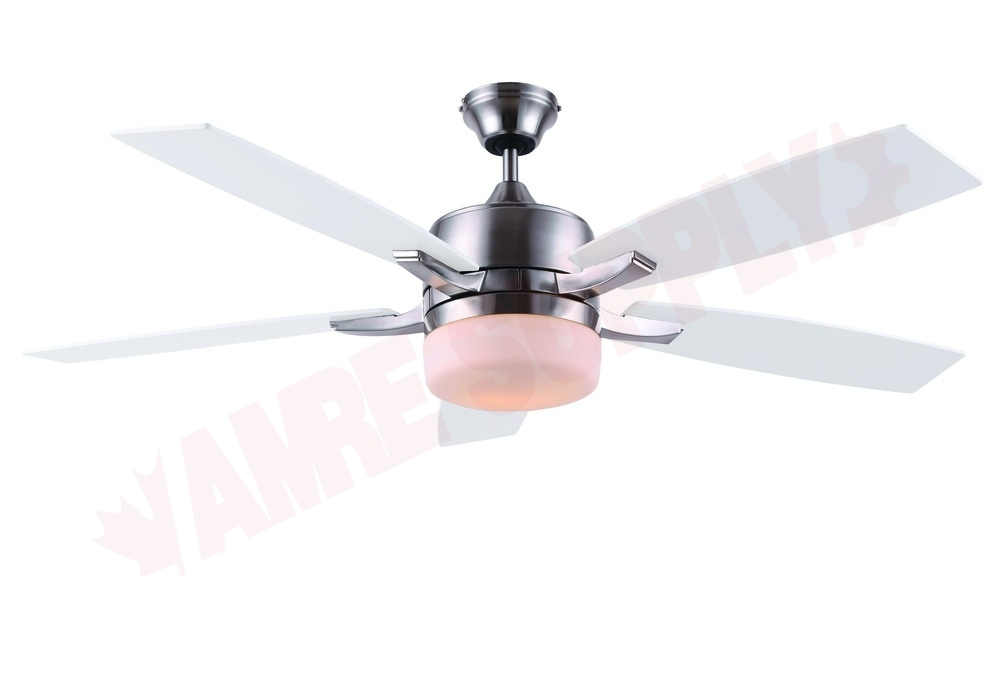Canarm Kori 52 Ceiling Fan Brushed Nickel 2x60w
