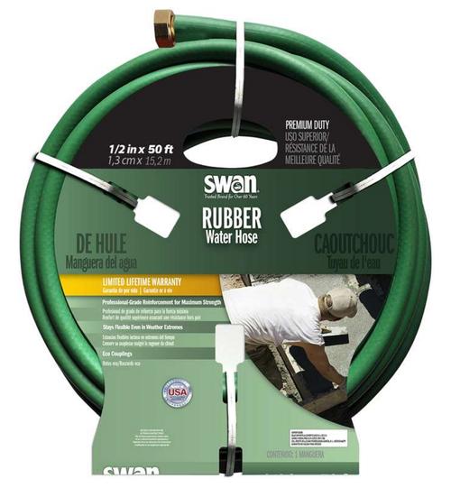 Swan 1/2  x 100u0027 Premium All Rubber Hose  sc 1 st  Amre Supply & Swan Hoses Hoses | Amre Supply