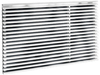 Frigidaire Built-In Air Conditioner Protective Grille, White
