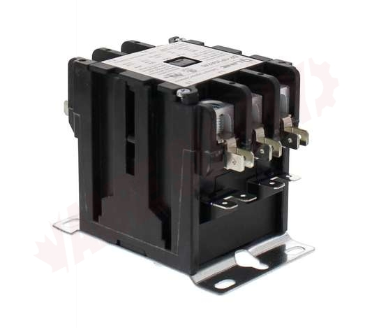 Photo 2 of DP-3P30A240 : Definite Purpose Magnetic Contactor, 3 Pole 30A 208/240V, Screw Type