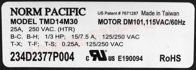 Photo 13 of WW02F00565 : GE Dryer Timer Assembly