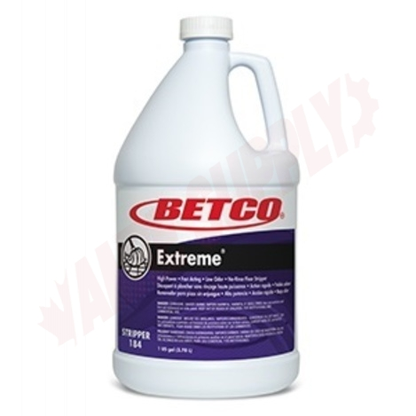 Photo 1 of 1840400 : Betco Extreme No-Rinse Floor Stripper, 3.78L