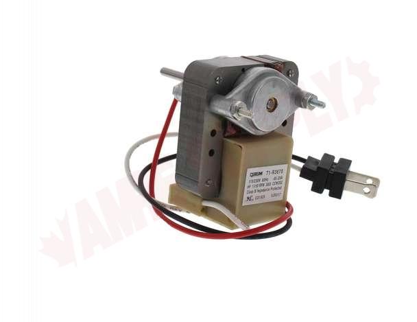 Photo 5 of T1-R3670 : Rotom Universal 1 Speed Utility C Frame Motor Kit 1/150HP 3000RPM 115/240V with Blades & Brackets