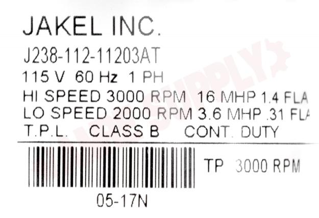 Photo 14 of HC21ZE126 : Carrier Inducer Motor