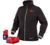 Milwaukee M12 Heated Women's Jacket Kit, Black, Large
