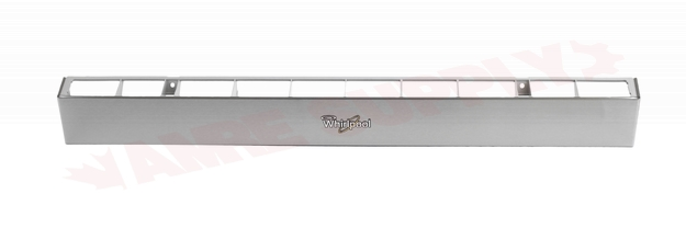 Photo 3 of W10718221 : Whirlpool Microwave Vent Grille, Stainless