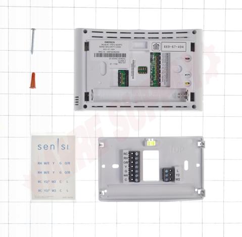 Photo 9 of 1F87U-42WFC : Emerson White Rodgers Sensi Wi-Fi Thermostat, Programmable, Heat/Cool