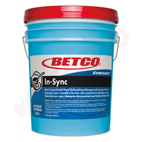 Photo 1 of 18510500 : Betco Symplicity™ In-Sync Concentrated Dishwashing Detergent, 18.9L
