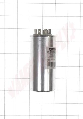 36-305R3744 : Capacitor 30/5MFD 370/440V Round Run Dual Voltage