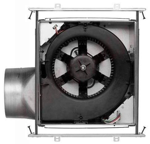Photo 5 of ZB80M : Broan Nutone ULTRA GREEN Multi-Speed Motion Sensing Exhaust Fan, 80 CFM